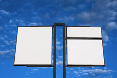 Reklamowy billboard zdjęcie stock