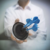 Reklamowy i Marketingowy sukces Zdjęcie Stock