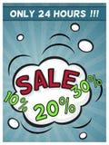 Reklamowy plakatowy szablon dla twój projekta Zdjęcie Royalty Free