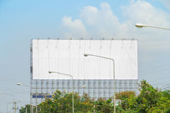 Reklamuje billboardy obok drogi obrazy royalty free