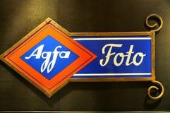 reklamy agfa rocznik Zdjęcia Stock