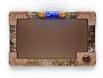 reklamy steampunk deskowy styl Zdjęcie Stock