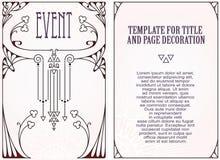 Reklamy, ulotka, zaproszenia lub kartka z pozdrowieniami, ilustracji
