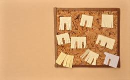 reklamy wycinanki papieru ściana Obrazy Stock