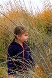 Rekonesansowa plażowa trawa Obrazy Royalty Free