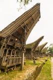 Rekonesansowa tradycyjna wioska, Taniec Toraja Zdjęcie Royalty Free