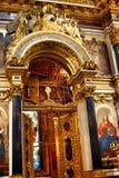 Rekonstruktion av kyrkan Fotografering för Bildbyråer