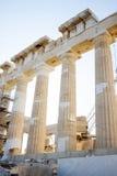 Rekonstruktion des Parthenons Lizenzfreie Stockfotografie