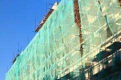 Rekonstruktion eines Gebäudes Stockbilder
