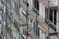 Rekonstruktion von Häusern Lizenzfreies Stockfoto