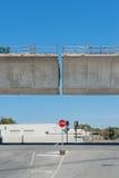 rekonstruktionväg under Arkivfoton