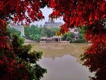 Rekord f?r turism f?r Kina Guangxi Beihai stadsv?r royaltyfri foto