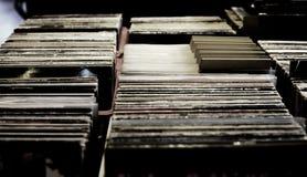 Rekord- lager Royaltyfri Foto