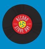 Rekord- lagerdagdesign Arkivbilder