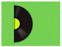 Rekord- vinyl Arkivbilder