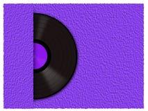 Rekord- vinyl Royaltyfria Foton