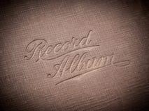 Rekordalbum Stockfotos