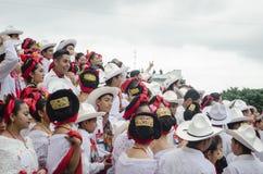 Rekordla Bamba, 2018 Xalapa, Veracruz, Mexiko stockbilder