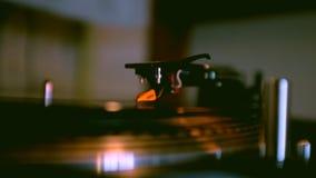 Rekordspinnen auf Drehscheibe Lizenzfreies Stockbild