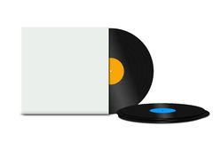 Rekordvinyl Stockbild
