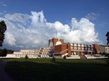 Rekreacyjnego centrum miasto Shchuchin Obrazy Royalty Free