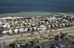 Rekreacyjnego pojazdu park na Floryda wybrzeżu Zdjęcie Royalty Free