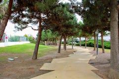 Rekreacyjny park w mieście fotografia royalty free