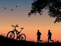 Rekreation i natur Fotografering för Bildbyråer