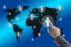 rekrutacyjny świat Zdjęcie Stock