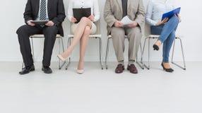 Rekrutering die rekruut het huren huur aanwerven - concepten royalty-vrije stock afbeelding