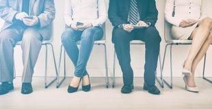 Rekrutering die rekruut het huren huur aanwerven - concepten royalty-vrije stock afbeeldingen
