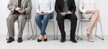 Rekrutering die rekruut het huren huur aanwerven - concepten