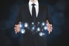Rekrutierung und zukünftiges Konzept Stockfoto