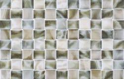 Rektangeltegelplattor i marmor Arkivfoto