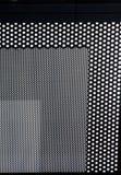 rektangulär designdetalj Arkivbild