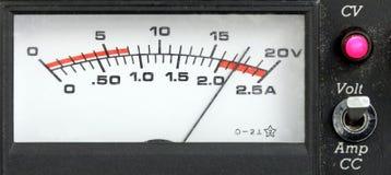 Rektangulär strömförsörjningskärm, retro stil Arkivbild