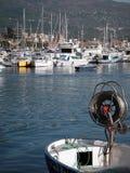 Relájese en el mar Foto de archivo libre de regalías