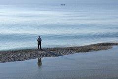 Relájese en el mar Fotos de archivo libres de regalías