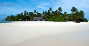 Relájese en maldives fotos de archivo libres de regalías