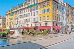 Relájese en Marsella Fotos de archivo libres de regalías
