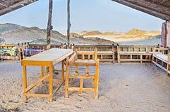 Relájese en Sáhara Foto de archivo