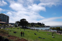Relájese en San Francisco Foto de archivo libre de regalías