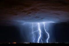 Relámpago de Tucson Imagen de archivo