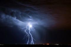 Relámpago de Tucson Fotos de archivo