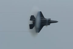 Relámpago II de Lockheed Martin F-35 foto de archivo libre de regalías