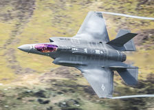 Relámpago II F35 del U.S.A.F.F-35A Imagen de archivo libre de regalías