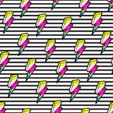 Relámpagos coloridos inconsútiles libre illustration