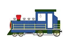 Relâmpago da bola do sopro na ilustração azul do fundo Fotos de Stock