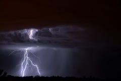 Relâmpago de Tucson Foto de Stock Royalty Free