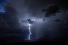 Relâmpago de Tucson Fotos de Stock Royalty Free